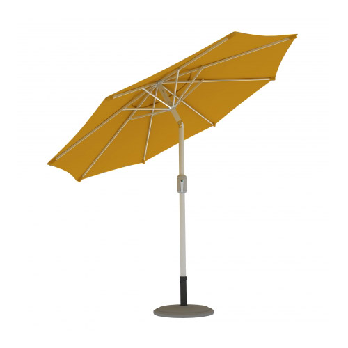 Parasol Ogrodowy, Okrągły, 3,5 m, Żółty