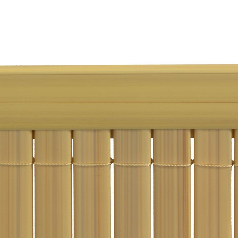 Profil osłonowy do mat PVC, 2 m, Bambus