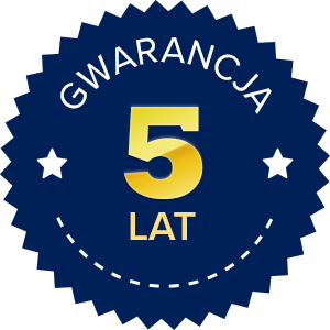 Gwarancja 5 lat