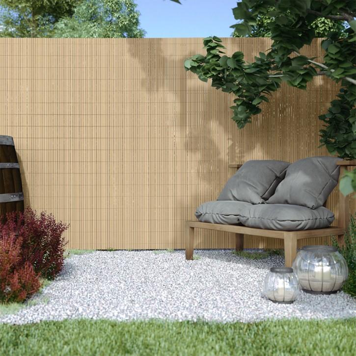 Płotek ogrodowy PVC, szer. listwy 17 mm