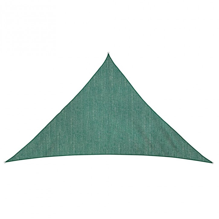 Żagiel przeciwsłoneczny, trójkątny, z tkaniny oddychającej