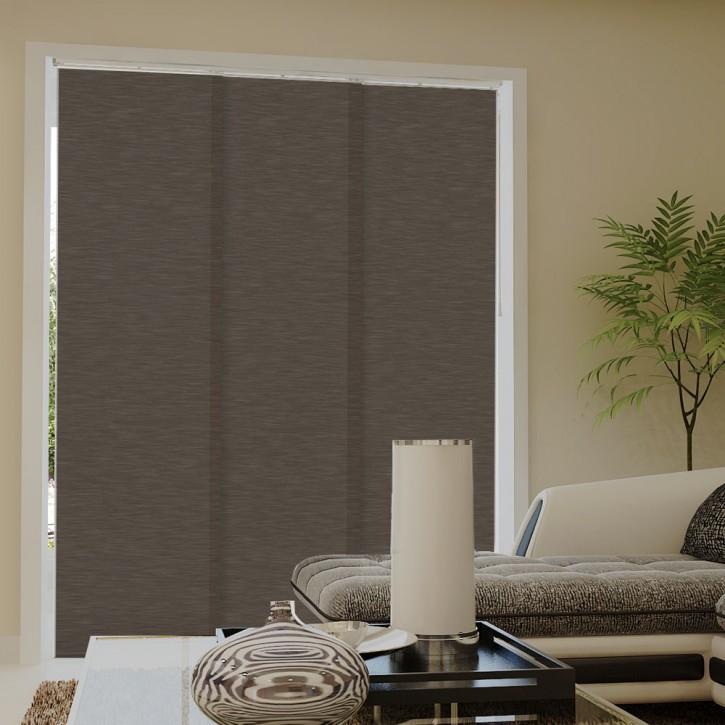 Zasłona panelowa z tkaniny strukturalnej, Gotowa Outlet