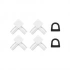 Podgląd: Zestaw akcesoriów do profili moskitiery ramkowej