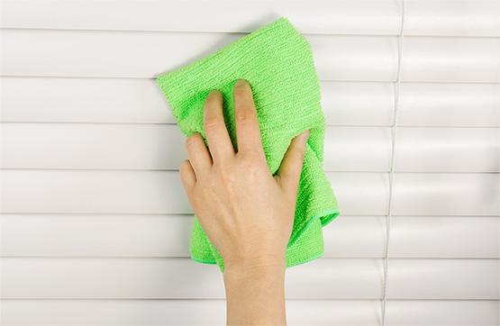Sposób na czyszczenie żaluzji