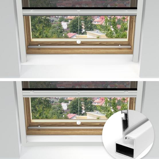 moskitiera rolowana na okno dachowe