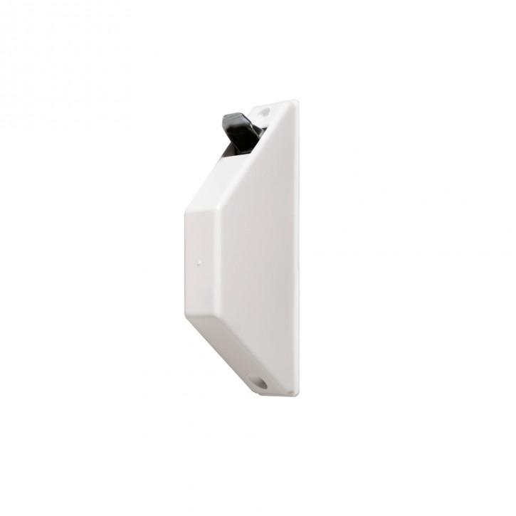 Miniaturowy zwijacz natynkowo-podtynkowy, bez taśmy (do taśmy o szer. 15 mm)