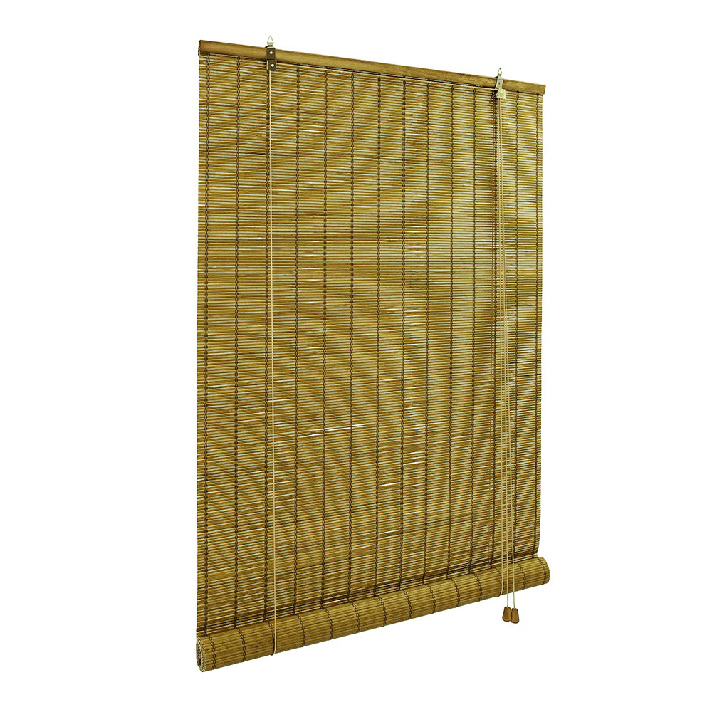 Roleta bambusowa, Gotowa, Brązowy