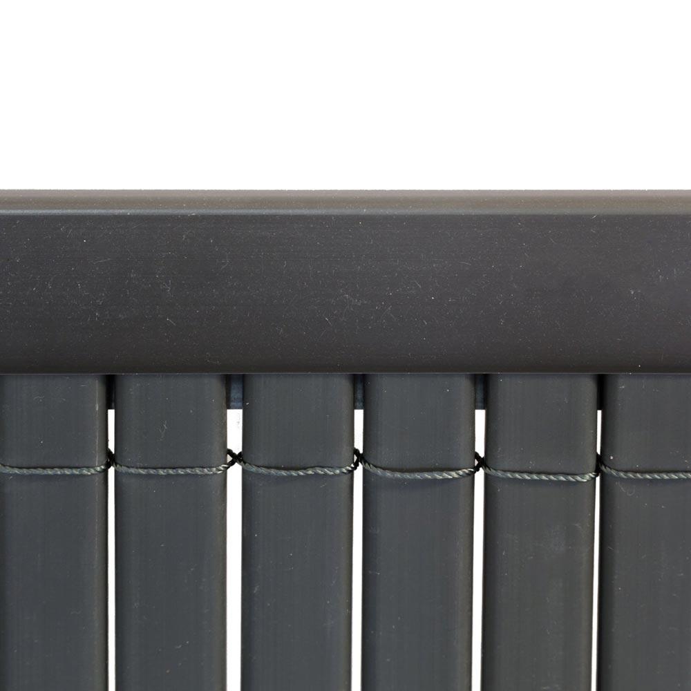 Profil osłonowy do mat PVC, 2 m, Szary