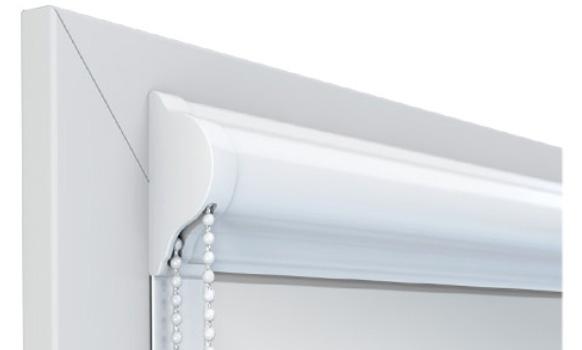 Kaseta aluminiowa do rolety materiałowej