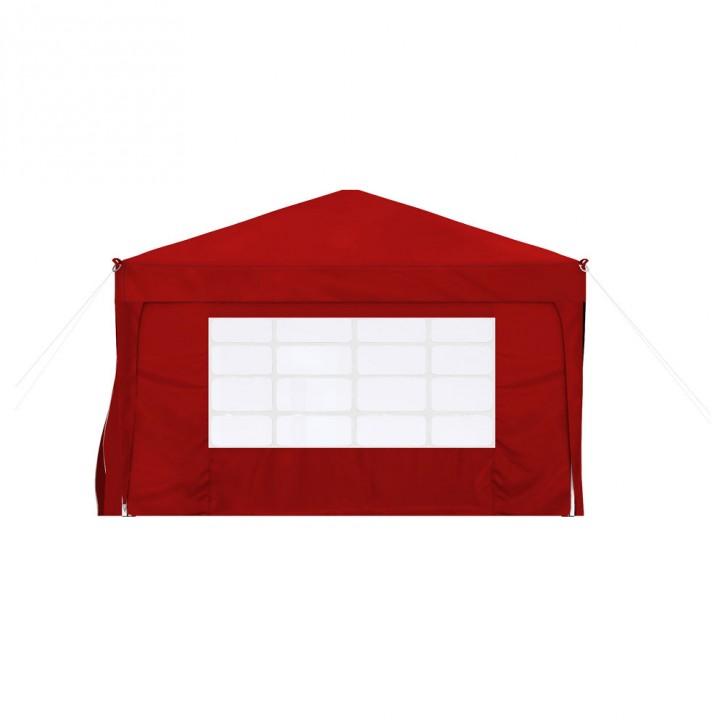 Ścianka z oknem do pawilonów ogrodowych Premium i Basic, 295x195 cm