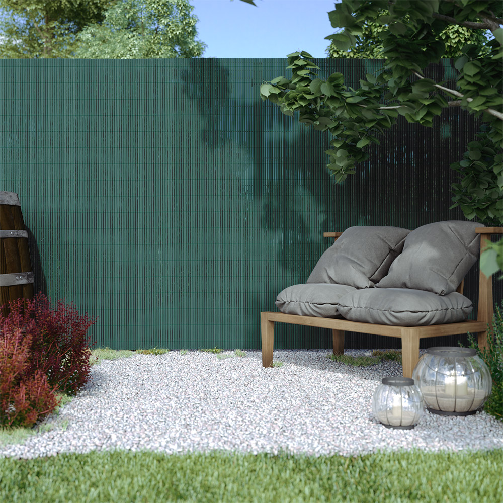 Płotek ogrodowy PVC Standard, szer. listwy 13 mm, Zielony