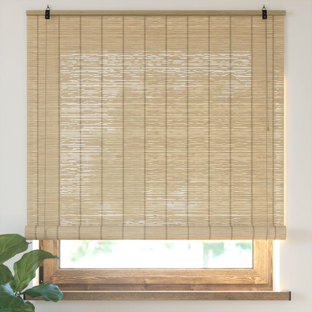 Roleta bambusowa, Gotowa, Naturalny