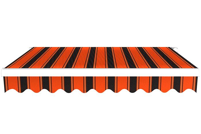 Markiza tarasowa, Gotowa, BASIC, Pomarańczowo-czarny