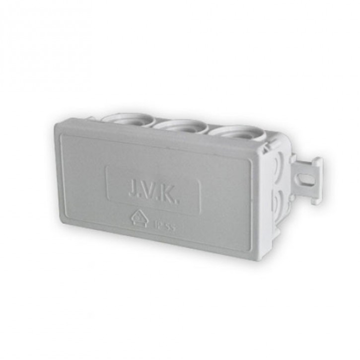 Puszka instalacyjna natynkowa z 12 wejściami ETAK4 (88x42x37 mm) Promocja