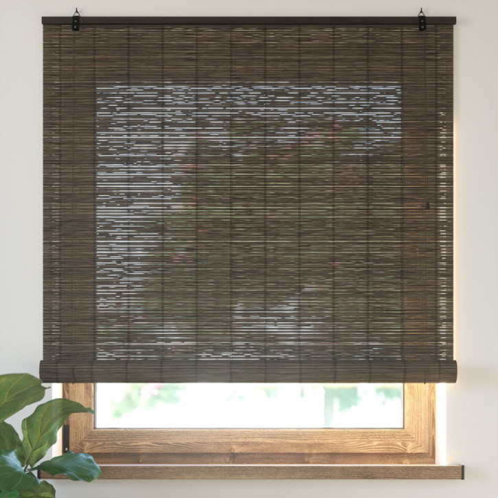 Roleta bambusowa, Gotowa