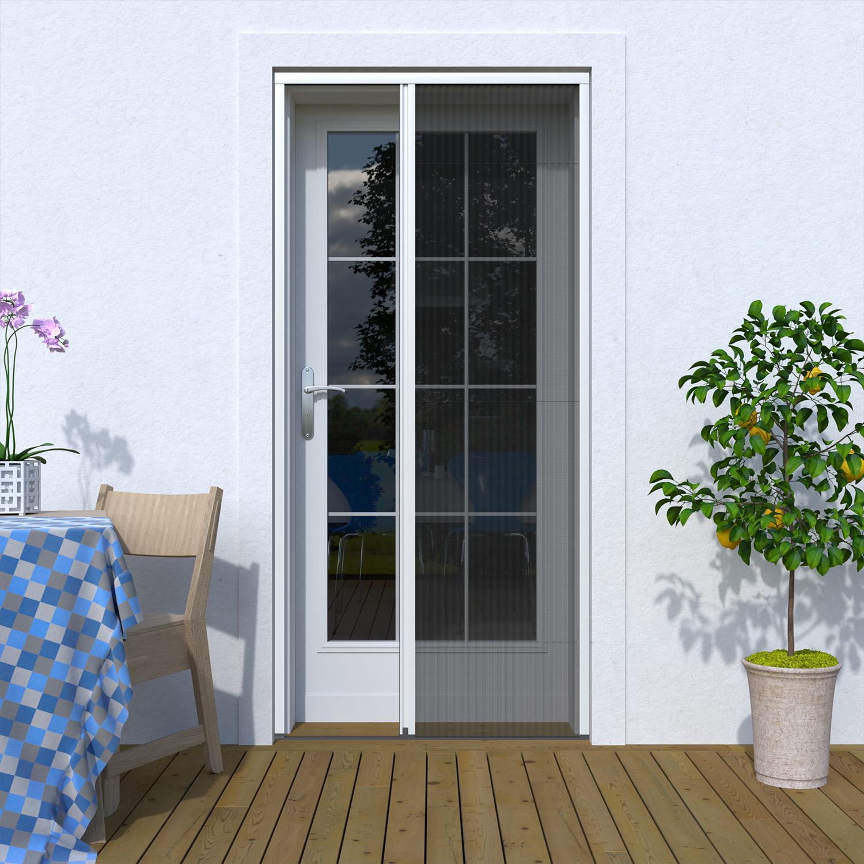 Moskitiera plisowana drzwiowa, Na wymiar