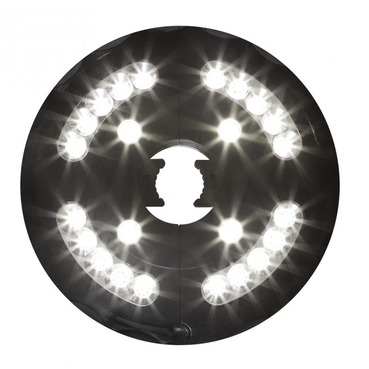 Lampa LED pod parasol przeciwsłoneczny interpara