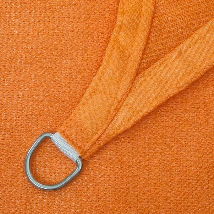 Żagiel przeciwsłoneczny, kwadratowy, z tkaniny oddychającej