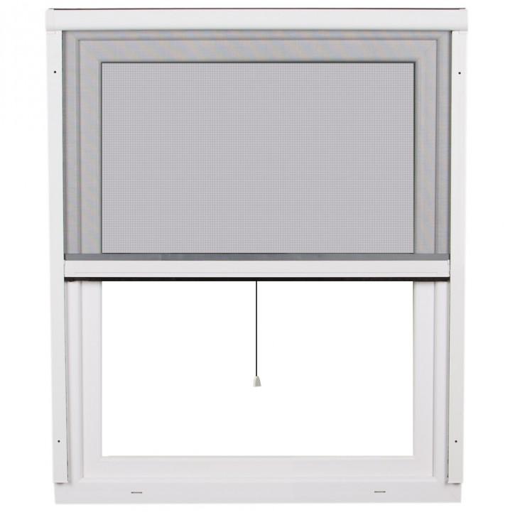 Moskitiera rolowana okienna, PCV, 2w1