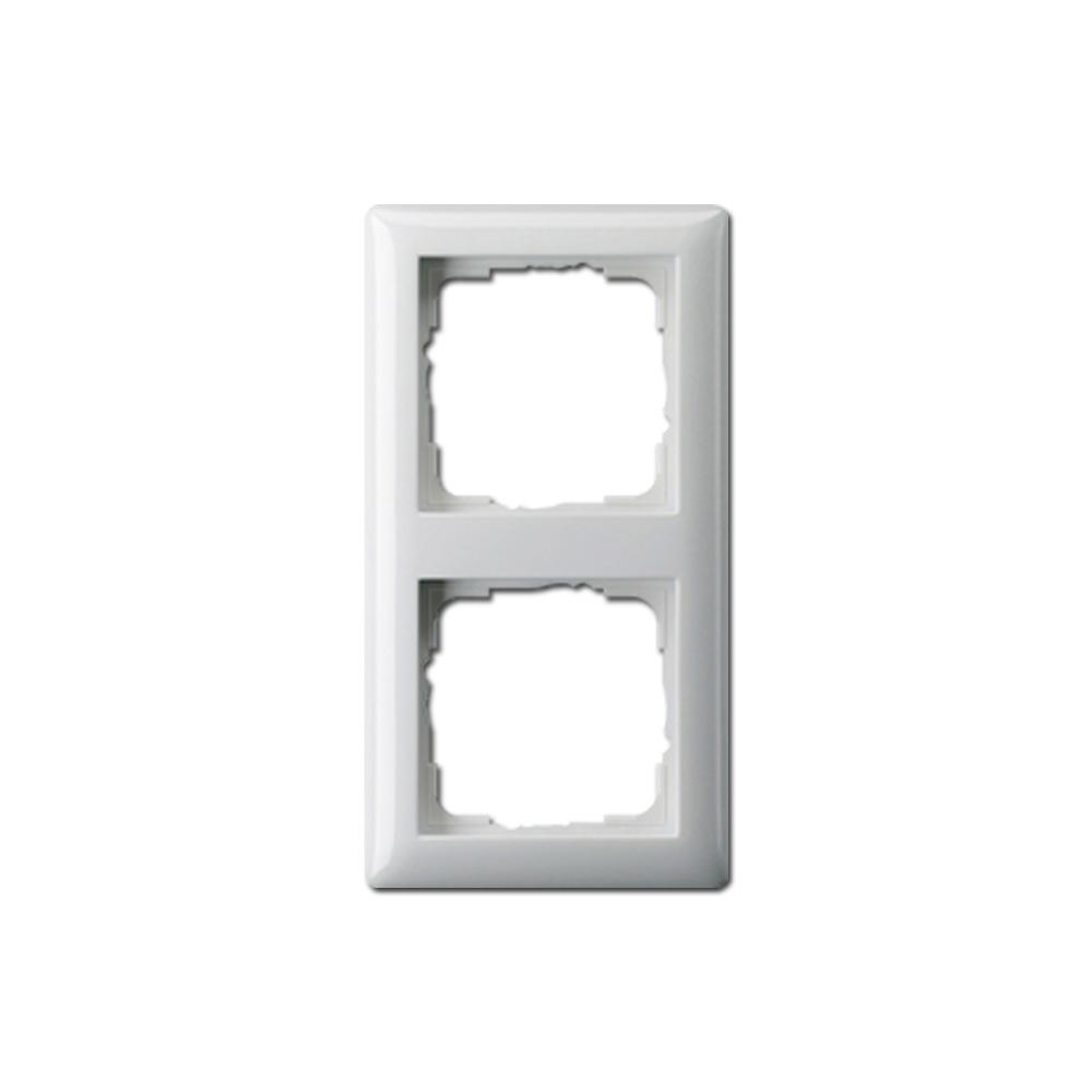 Ramka na włącznik, Powójna, Standard 55 (21203)