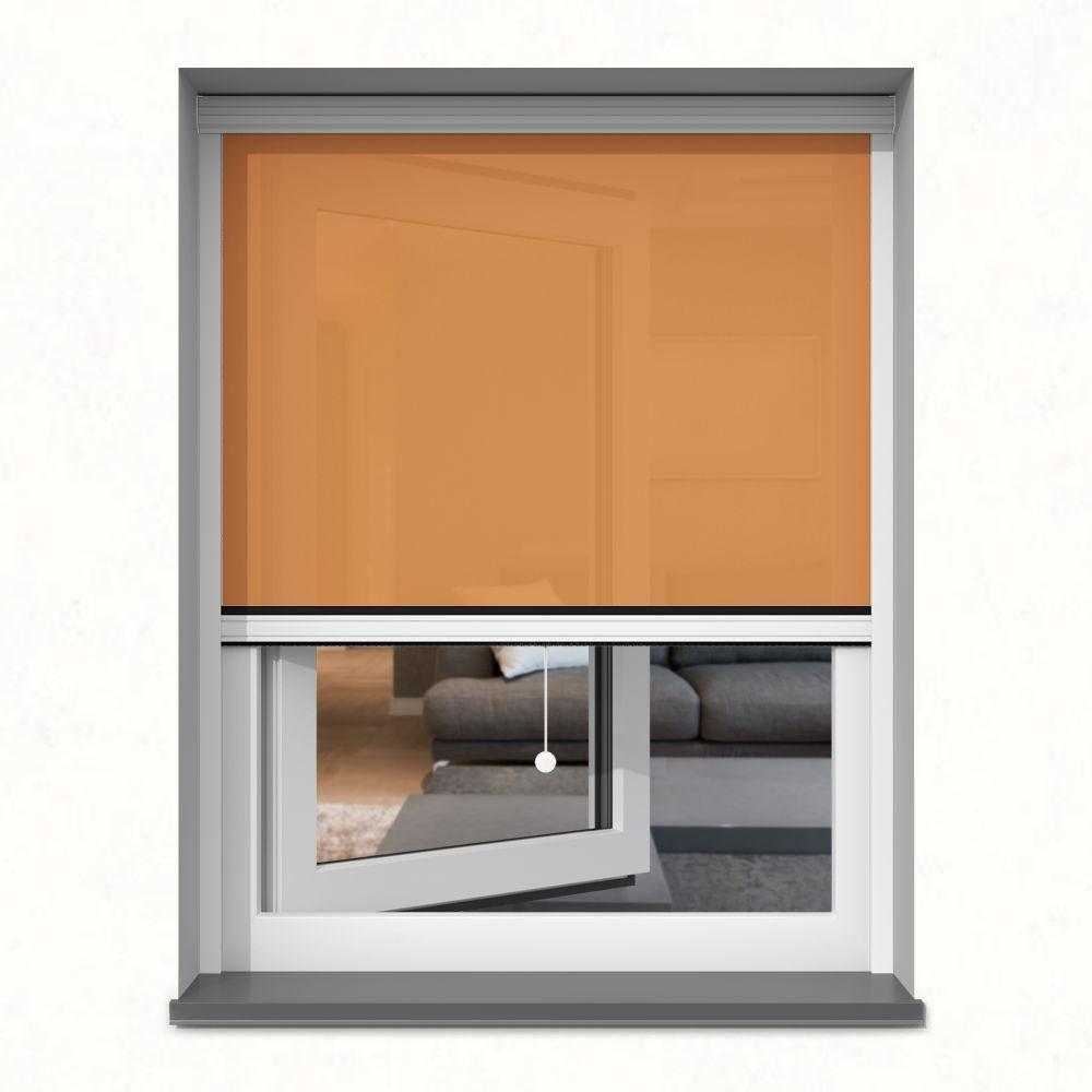 Roleta okienna screen, W kasecie, Na wymiar, Nagietek