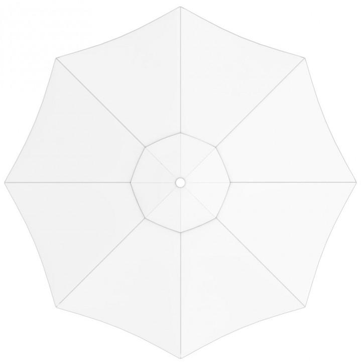 Poszycie parasola przeciwsłonecznego interpara, okrągłe, 3,5 m