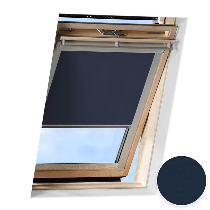 Roleta do okien dachowych Velux, Zaciemniająca, Granatowy