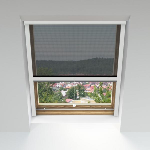 moskitiera rolowana na okna dachowe na wymiar okienne domondo. Black Bedroom Furniture Sets. Home Design Ideas