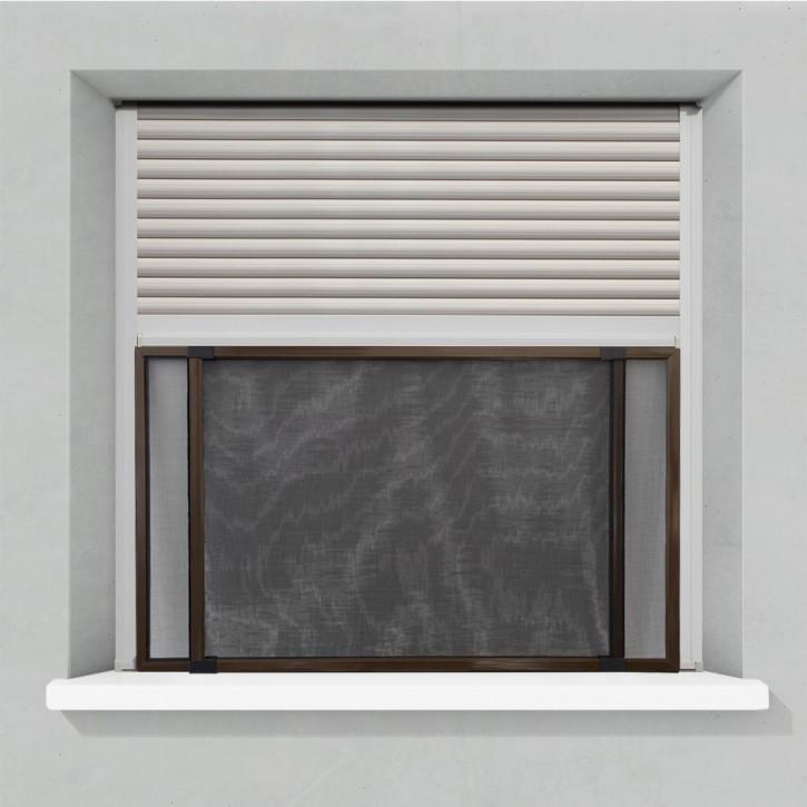 Moskitiera przesuwna, Do okien z roletami, Gotowa