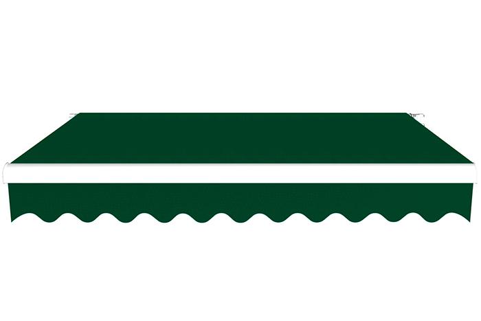Markiza tarasowa, Gotowa, BASIC, Zielony