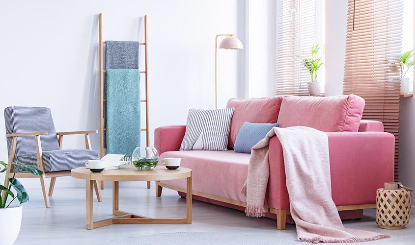 Tkaniny – przytulnie i luksusowo