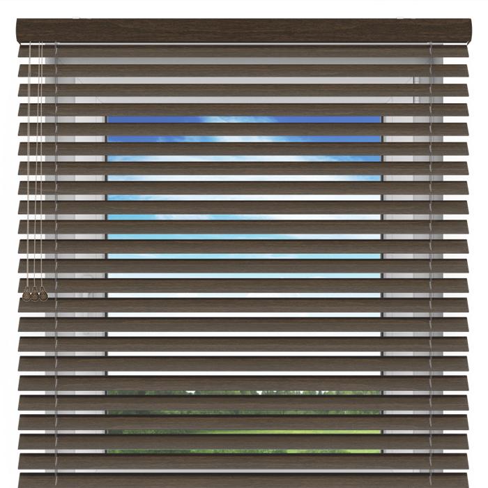 Żaluzja drewniana, 50 mm,  Na wymiar, anyż