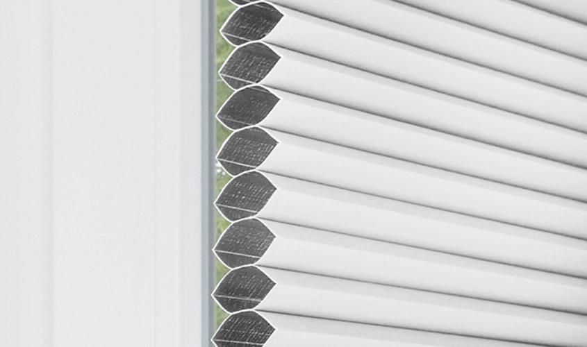 Rolety plisowane termoizolacyjne plaster miodu