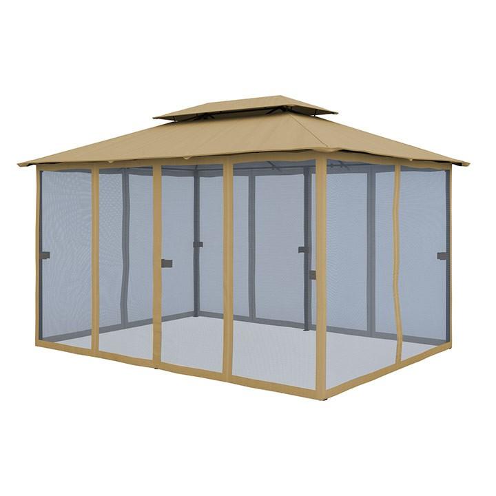 Zestaw ścian bocznych do pawilonu ogrodowego Comfort, 3x4 m