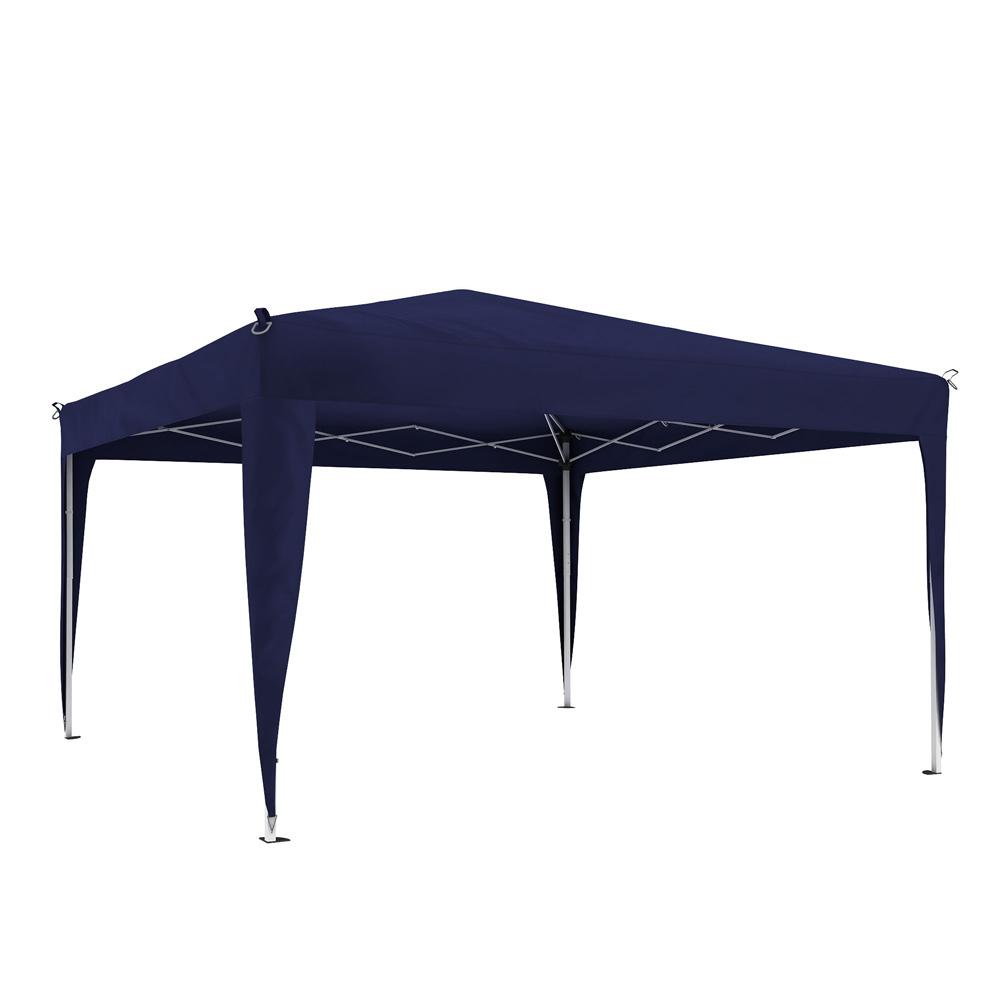 Stelaż z poszyciem do pawilonu ogrodowego Basic, 3x3 m, Niebieski